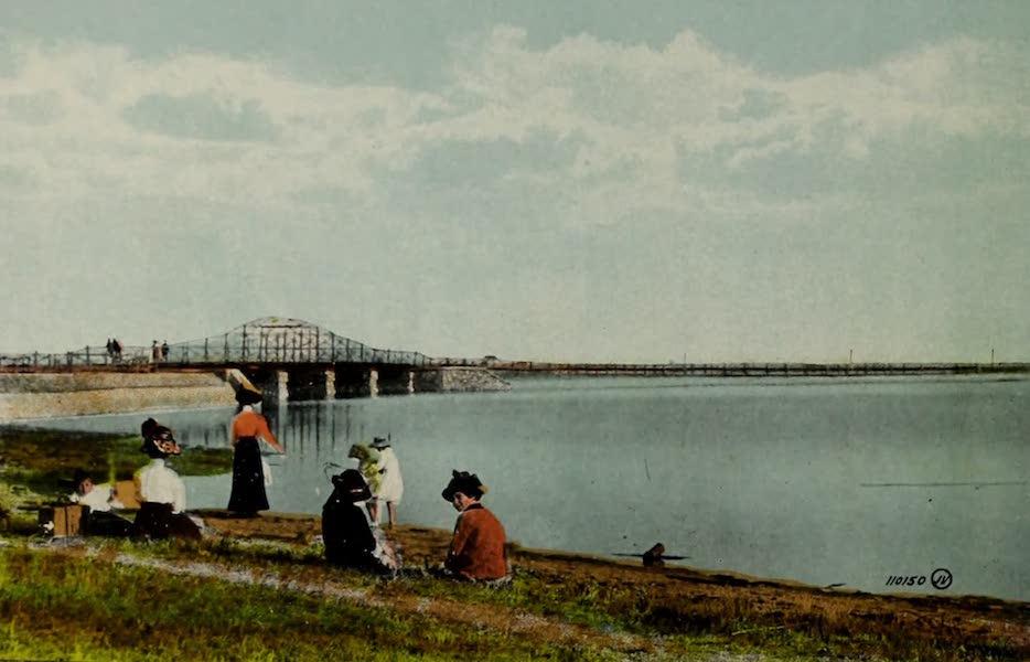 Souvenir of Lethbridge, Alta. - The Lake, near Exhibition Park (1910)