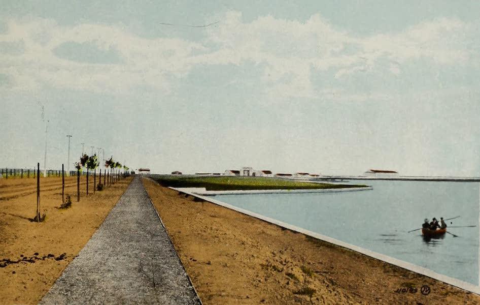 Souvenir of Lethbridge, Alta. - The Lake by Exhibition Park (1910)