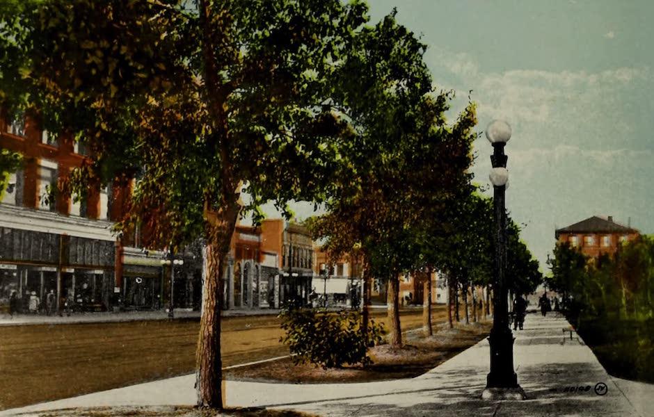 Souvenir of Lethbridge, Alta. - Third Avenue (1910)