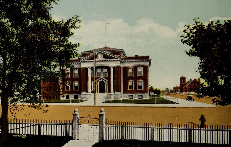 Souvenir of Lethbridge, Alta. - The Court House (1910)