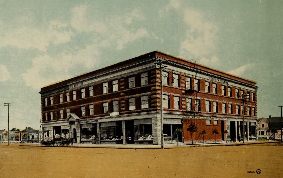 Souvenir of Lethbridge, Alta. - Dominion Building (1910)