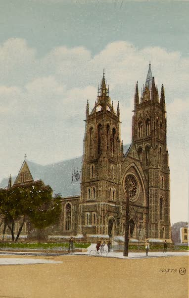 Souvenir of Montreal - St. James Methodist Church (1910)