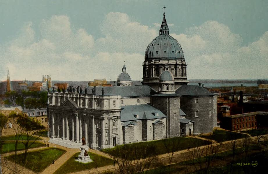 Souvenir of Montreal - St. James Cathedral (1910)