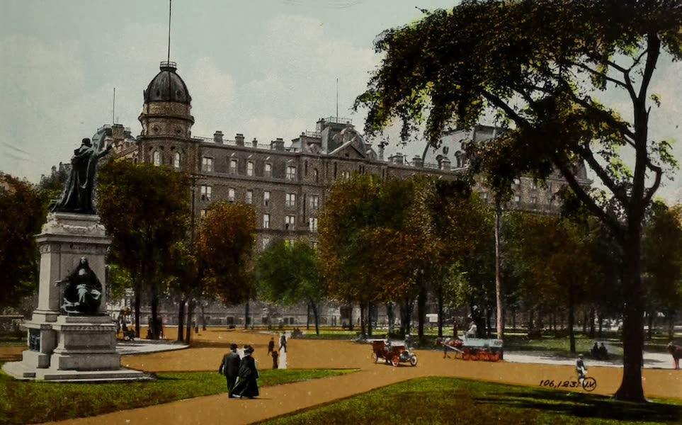 Souvenir of Montreal - Windsor Hotel, Dominion Square (1910)