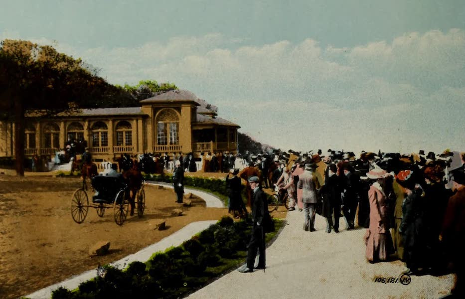 Souvenir of Montreal - At Mount Royal Look-out (1910)