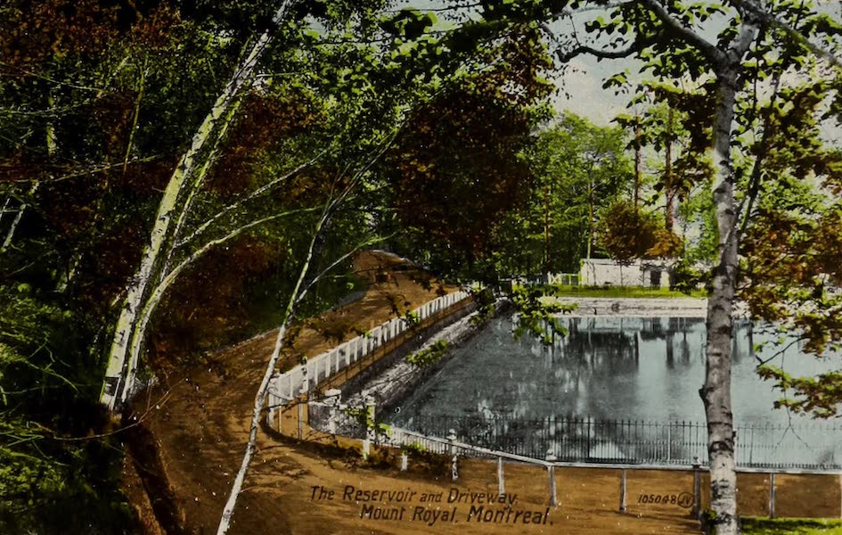 Souvenir of Montreal - The Reservoir and Driveway (1910)