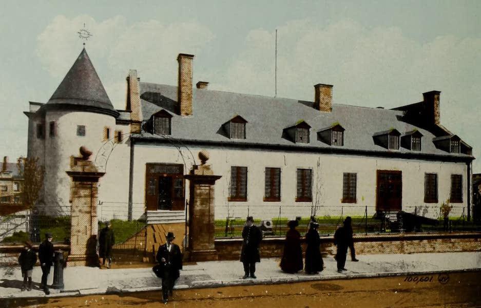 Souvenir of Montreal - Chateau de Ramezay (1910)