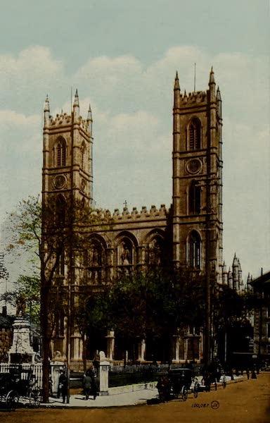 Souvenir of Montreal - Notre Dame Church (1910)