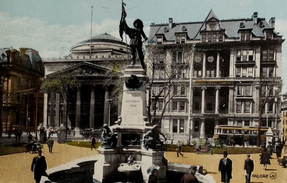 Souvenir of Montreal - Maisonneuve Monument (1910)