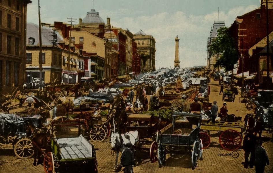 Souvenir of Montreal - Bonsecours Market (1910)