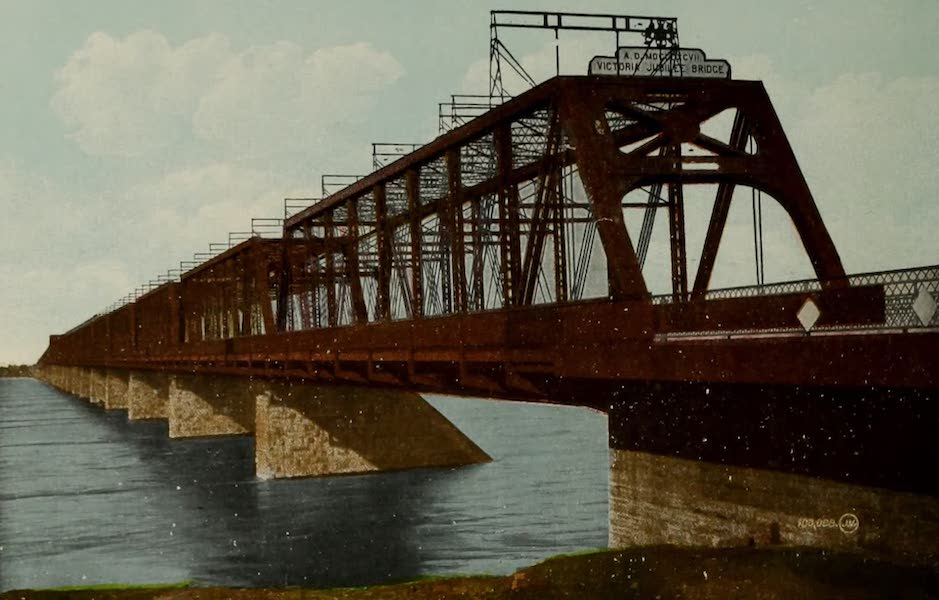 Souvenir of Montreal - Victoria Jubilee Bridge (1910)