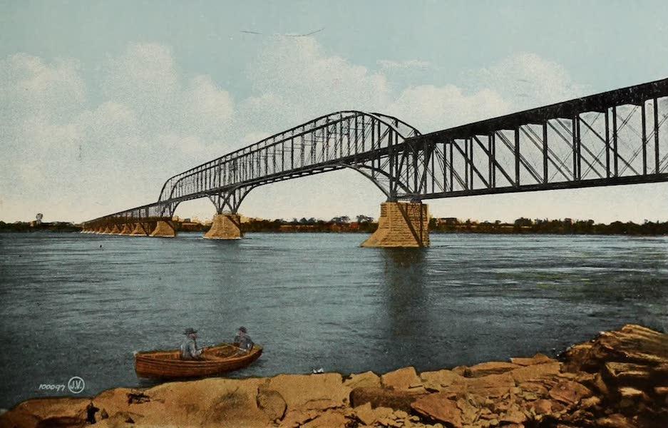 Souvenir of Montreal - C.P.R. Bridge over St. Lawrence River (1910)