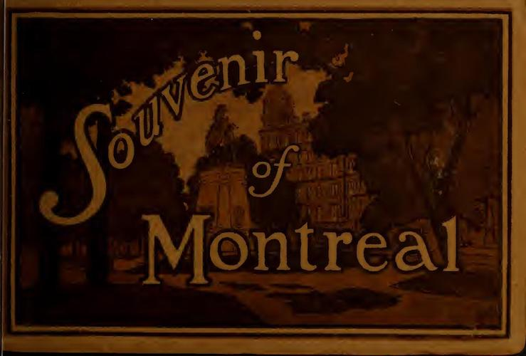 Chromolithography - Souvenir of Montreal