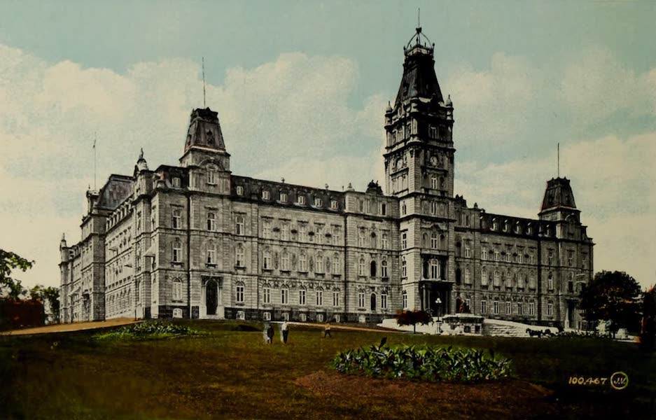 Souvenir of Quebec - Parliament Buildings (1910)