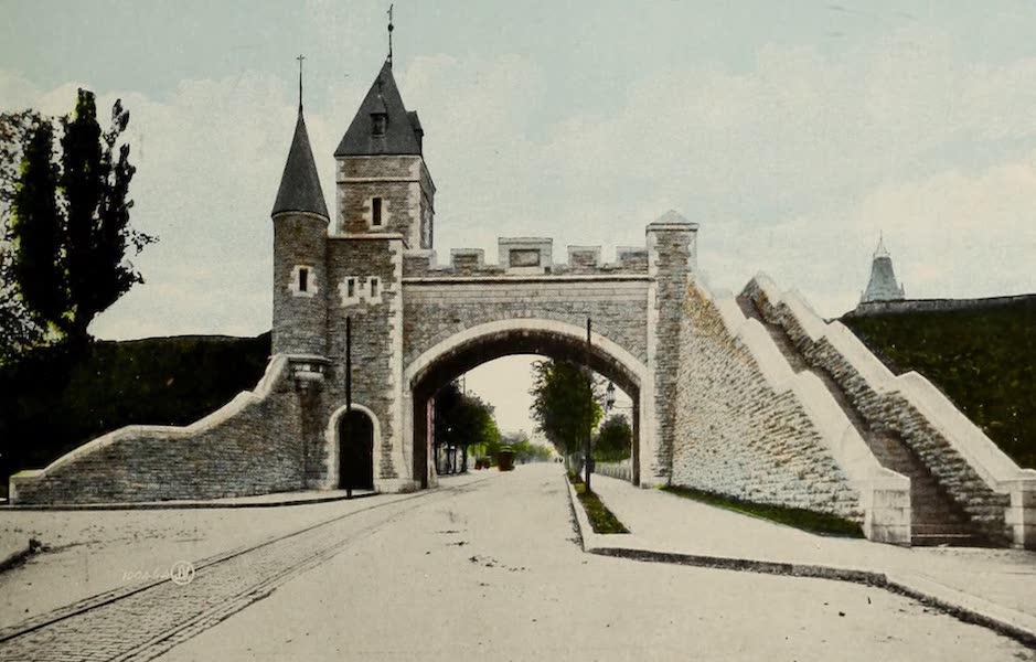 Souvenir of Quebec - St. Louis Gate (1910)