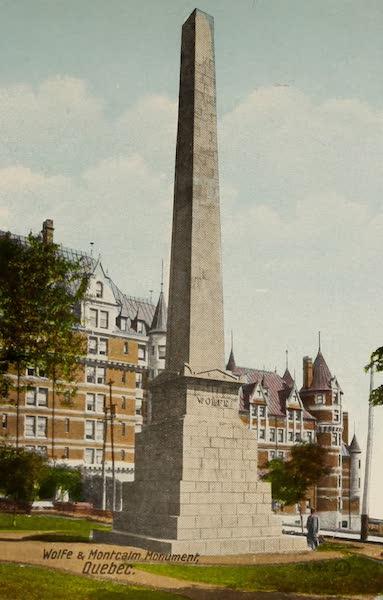 Souvenir of Quebec - Wolfe and Montcalm Monument (1910)
