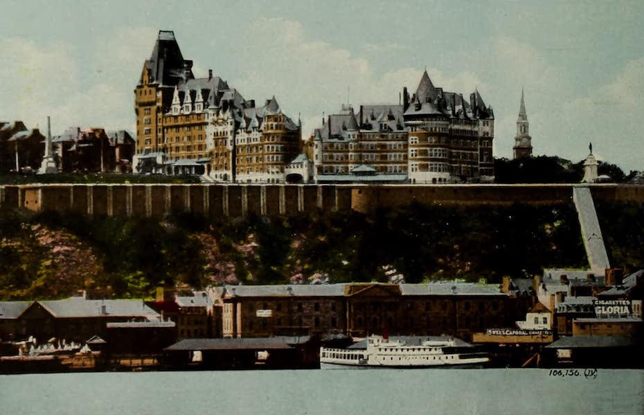 Souvenir of Quebec - Chateau Frontenac : The Most Charming Hotel in the World (1910)