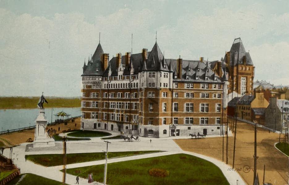 Souvenir of Quebec - Chateau Frontenac (1910)