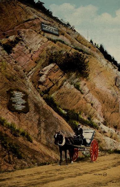 Souvenir of Quebec - Where Montgomery Fell (1910)