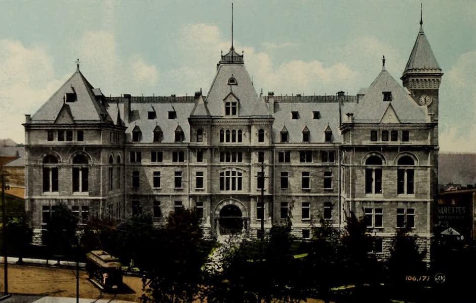 Souvenir of Quebec - City Hall (1910)