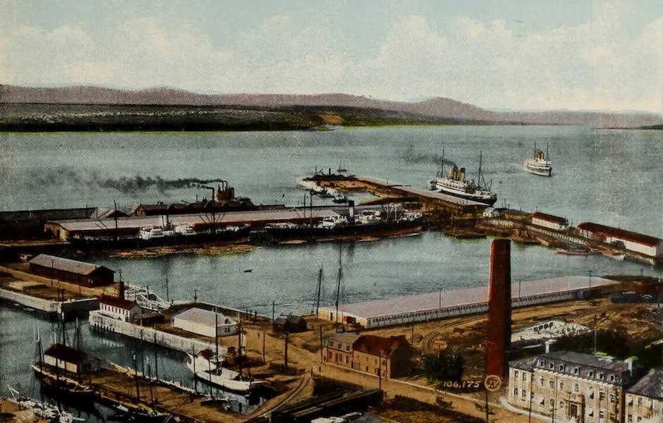 Souvenir of Quebec - The Harbour (1910)