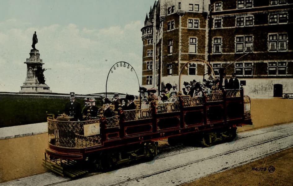 Souvenir of Quebec - Observation Car (1910)