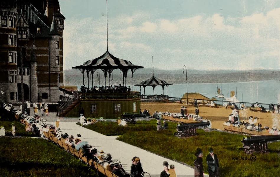 Souvenir of Quebec - Band Concert, Dufferin Terrace (1910)