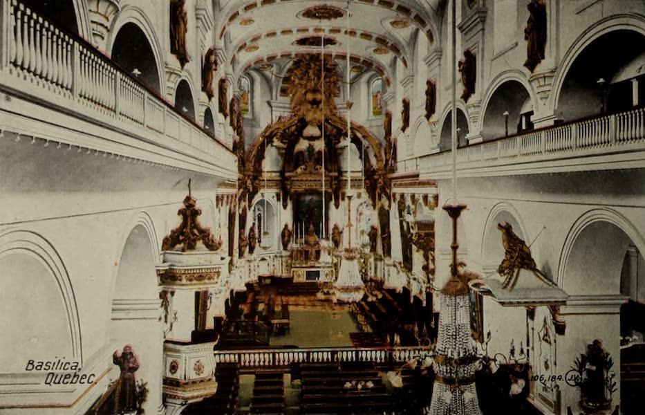 Souvenir of Quebec - Basilica (1910)
