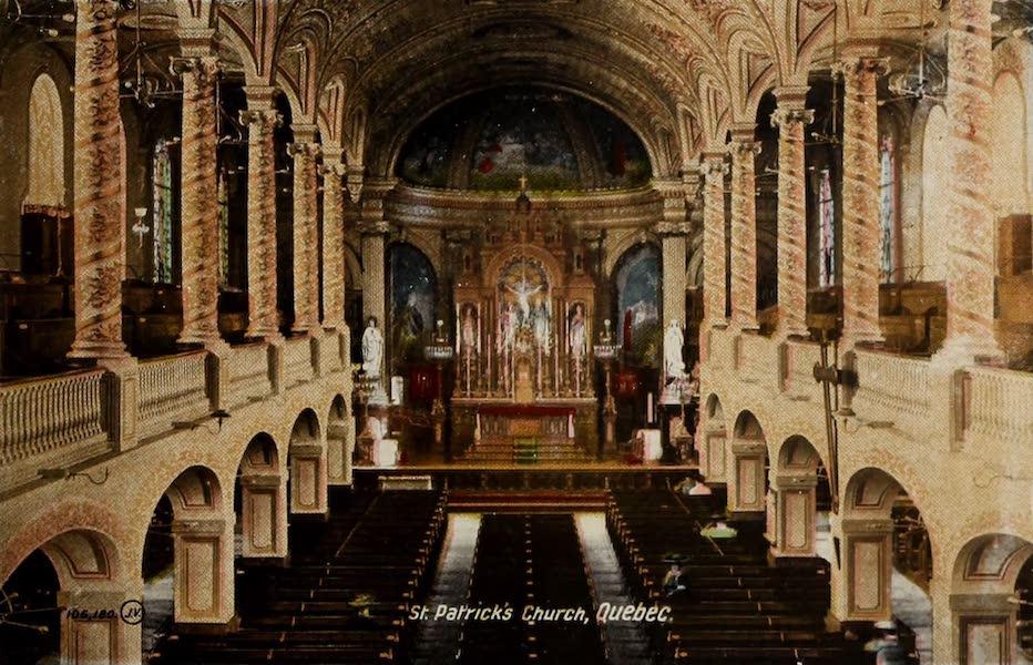Souvenir of Quebec - St. Patrick's Church (1910)