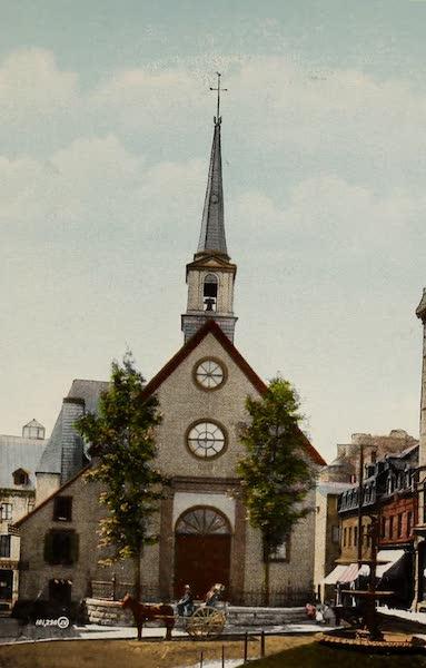 Souvenir of Quebec - Notre Dame des Victoires (1910)