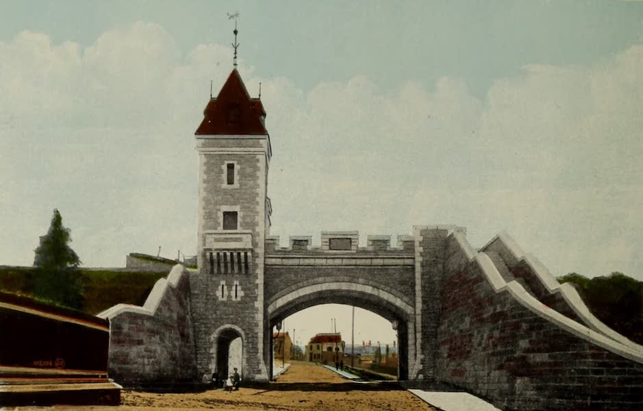 Souvenir of Quebec - Kent Gate (1910)