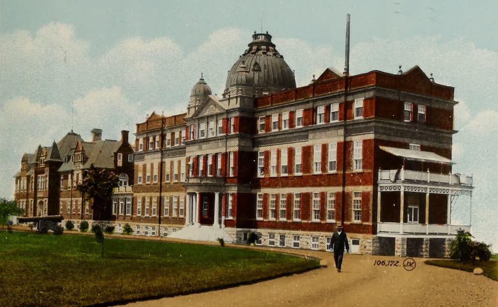 Souvenir of Quebec - Jeffery Hale Memorial Hospital (1910)