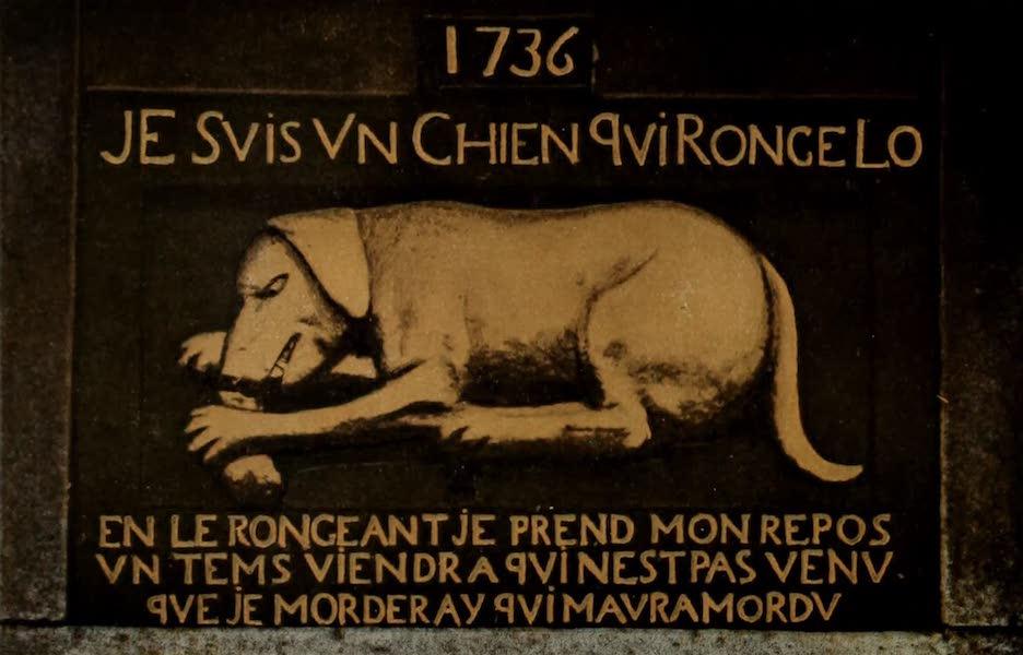 Souvenir of Quebec - The Golden Dog. Chien d'Or (1910)