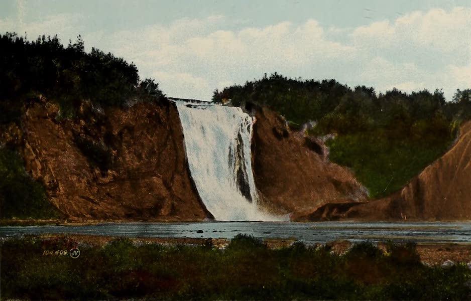 Souvenir of Quebec - Montmorency Falls (1910)