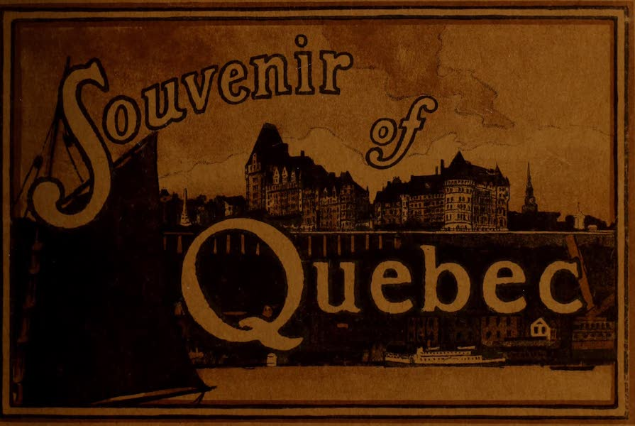 Chromolithography - Souvenir of Quebec