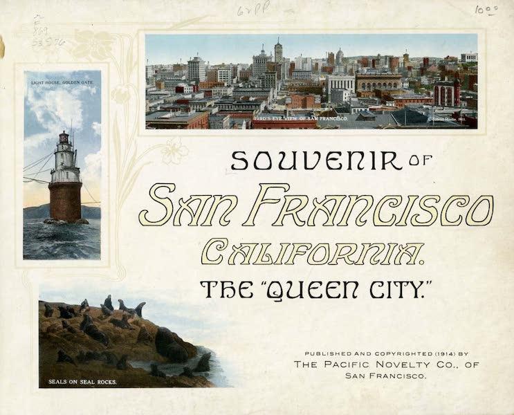 Souvenir of San Francisco, California - Title Page (1914)