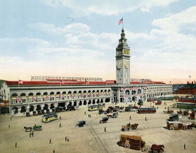 Souvenir of San Francisco, California - Ferry Building (1914)