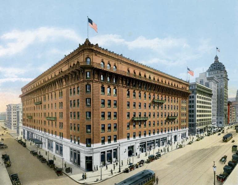 Souvenir of San Francisco, California - Palace Hotel (1914)