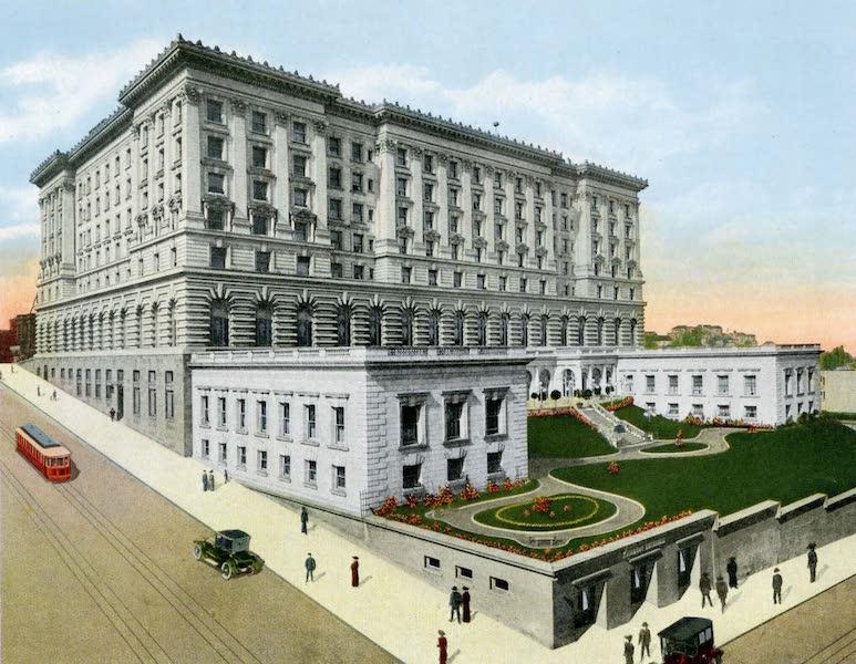 Souvenir of San Francisco, California - Fairmont Hotel (1914)