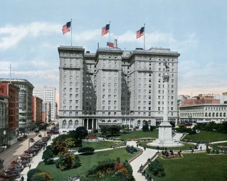 Souvenir of San Francisco, California - St. Francis Hotel Union Square (1914)