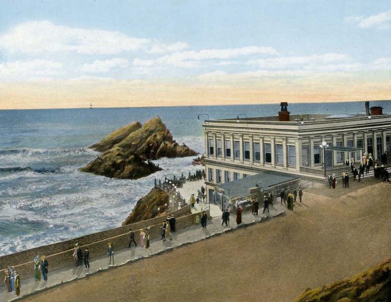 Souvenir of San Francisco, California - Cliff House and Seal Rocks from Boulevard (1914)
