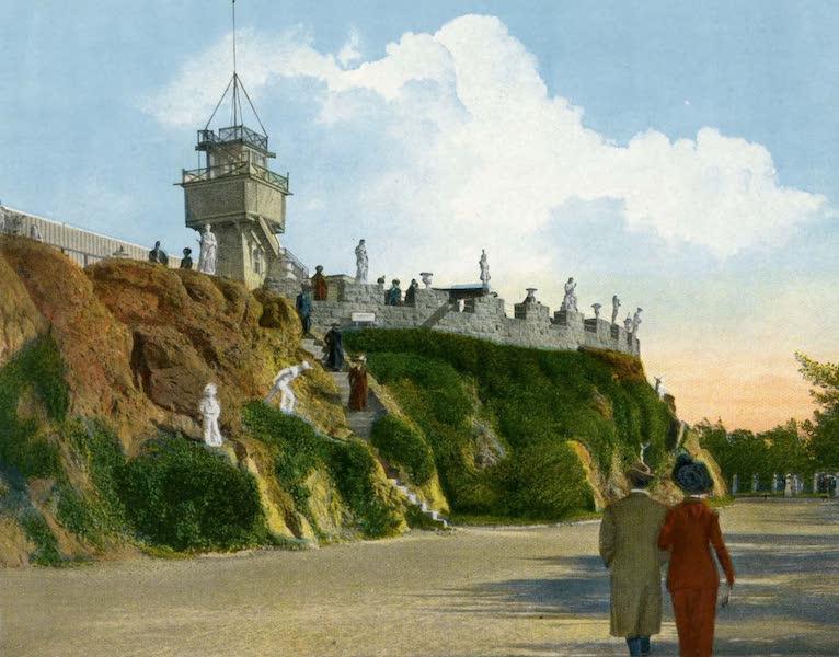 Souvenir of San Francisco, California - The Parapet Sutro Heights (1914)