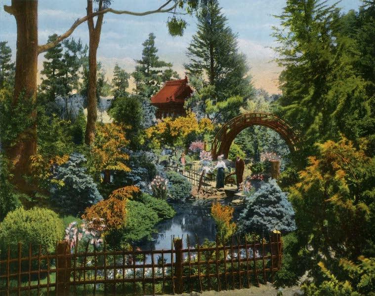 Souvenir of San Francisco, California - Japanese Tea Garden Golden Gate Park (1914)