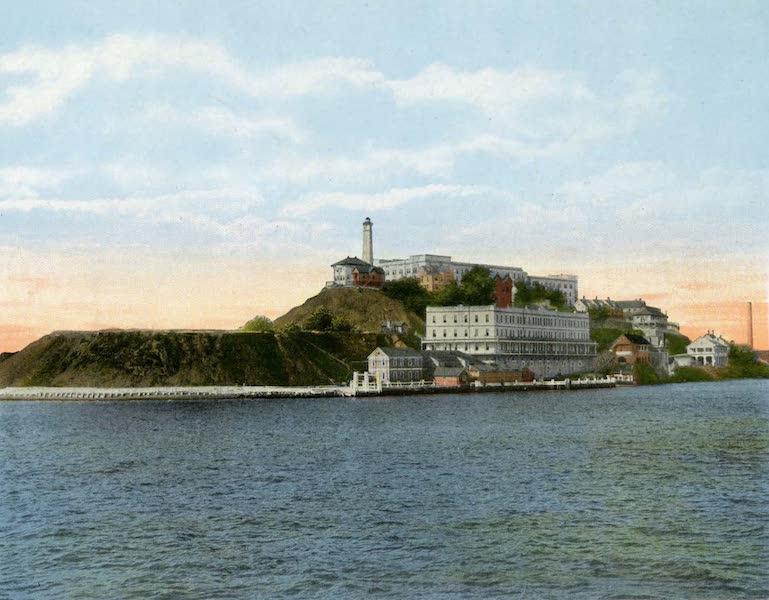 Souvenir of San Francisco, California - Alcatraz Island San Francisco Bay (1914)