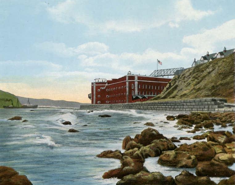 Souvenir of San Francisco, California - Fort Winfield Scott Fort Point Entrance to San Francisco Bay (1914)