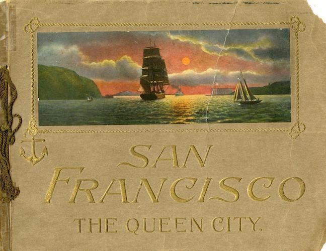 Souvenir of San Francisco, California