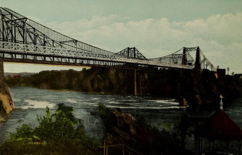 Souvenir of St. John N.B. - Bridge and Falls : Tide running up (1910)