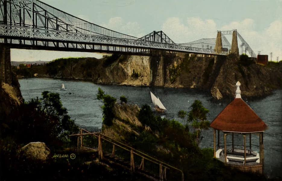 Souvenir of St. John N.B. - Bridge and Falls : Slack Water (1910)