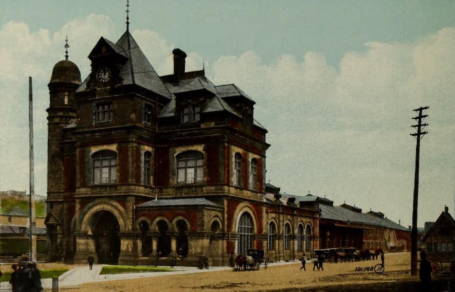 Souvenir of St. John N.B. - Union Station (1910)