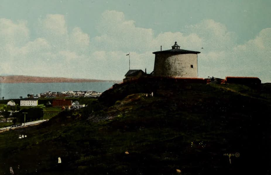 Souvenir of St. John N.B. - Martello Tower (1910)